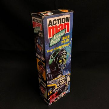 ACTION MAN - CAPTAIN ZARGON-  STILL FACTORY  SEALED CASE FRESH - AMAZING